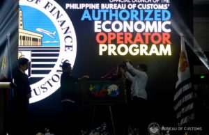 Launch of Philippine AEO program